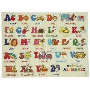 Abėcėlė magnetinė ABC (angliška)