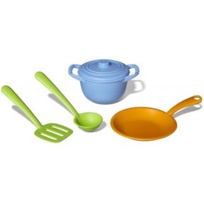 Ekologiško plastiko virtuvės šefo rinkinys