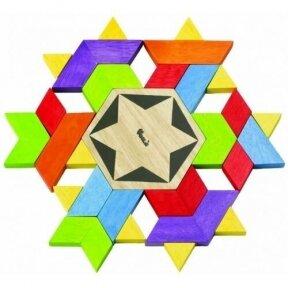 Medinis žaislas Kaleidoskopas