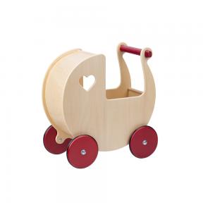 Medinis lėlės vežimėlis Mažylis