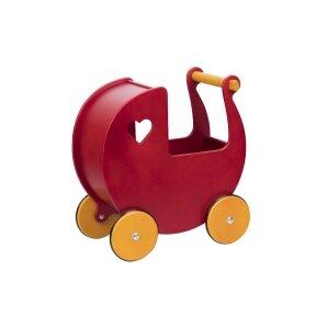 Medinis lėlių vežimėlis Didelis