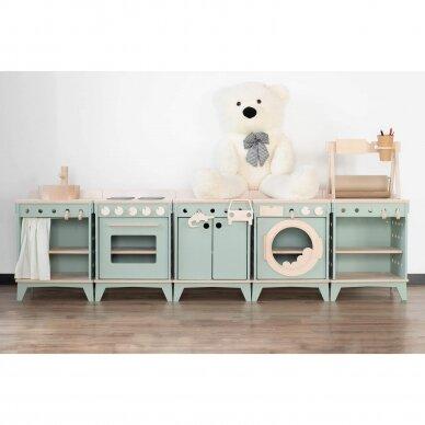 Medinė virtuvėlė modulinė 2