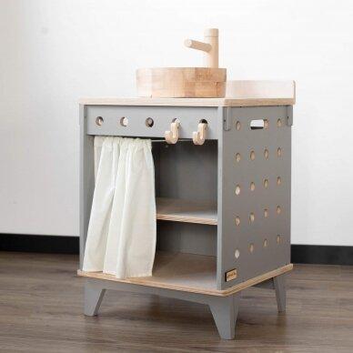 Medinė virtuvėlė Plautuvė 7