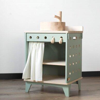 Medinė virtuvėlė Plautuvė 8