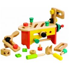 Medinis žaislas - Staliaus įrankiai